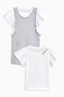 Next Jersey Dress And T-Shirt Set (3-16yrs)