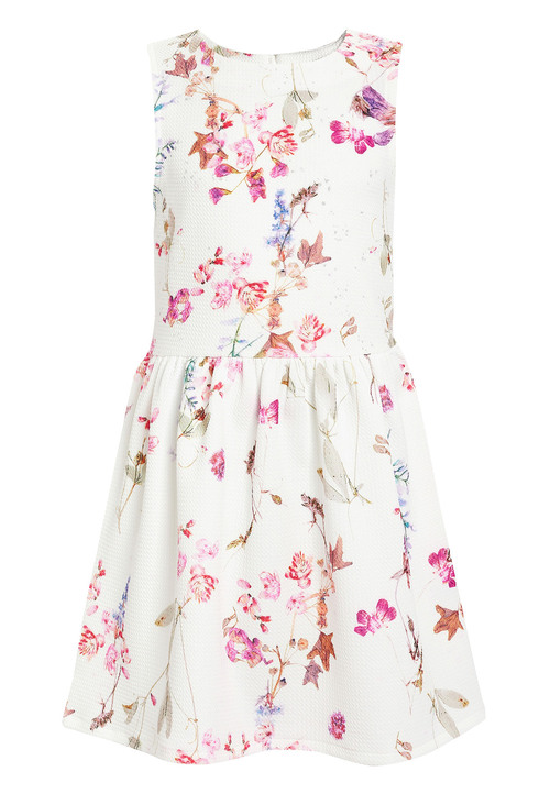 Next Floral Ponte Dress (3-16yrs)