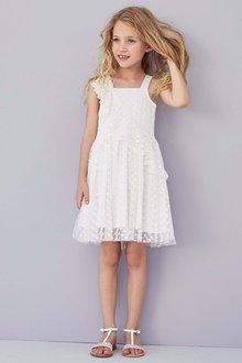 Next Frill Lace Dress (3-16yrs)
