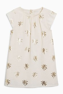 Next Palm Tree Dress (3-16yrs)