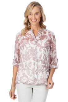 Noni B Daisy Shirt Printed - 208543
