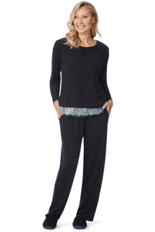 Noni B Dottie PJ Set With Lace
