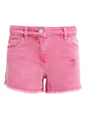 Next Pink Denim Shorts (3-16yrs)
