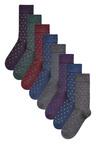 Next Small Spot Socks Eight Pack