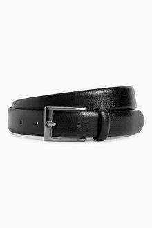 Next Leather Pebble Grain Belt - 208571