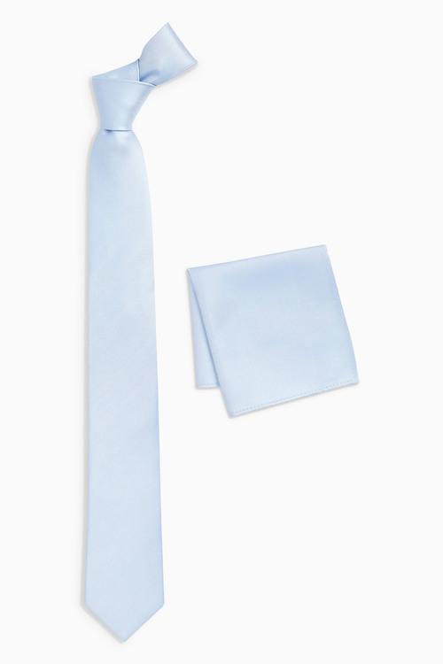 Next Tie And Pocket Square Set