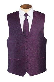 Next Silk Patterned Waistcoat