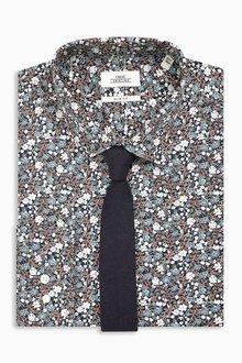 Next Shirt And Tie Set