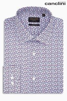Next Signature Canclini Floral Printed Slim Fit Shirt
