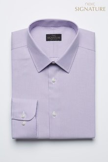 Next Stripe Signature Non-Iron Shirt