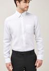 Next Signature Linen Shirt - Slim Fit Single Cuff