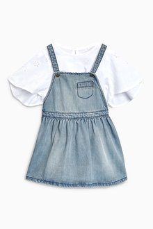 Next Pinafore And Blouse (3mths-6yrs)