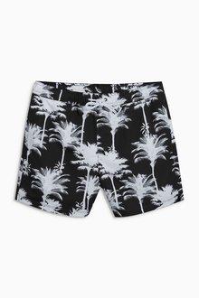 Next Palm Print Swim Shorts