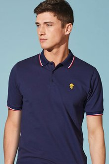 Next Tipped Lion Badge Polo
