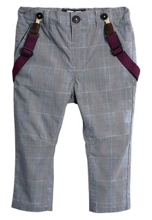 Next Trousers With Braces (3mths-6yrs)