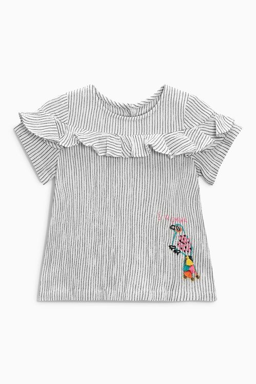 Next Embroidered Character Blouse (3mths-6yrs)