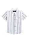 Next Short Sleeve Linen Blend Shirts Two Pack (3mths-6yrs)
