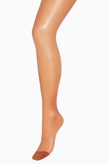 Next Nude Gloss Sheer Maternity Tights - 208930