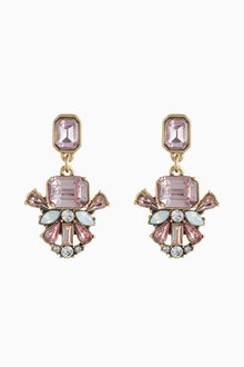 Next Clip On Jewelled Earrings