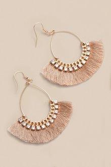 Next Fringed Drop Earrings