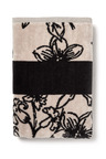 Floral Velour Bath Towel