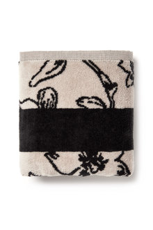 Floral Velour Hand Towel