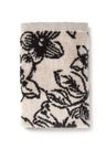 Floral Velour Face Cloth