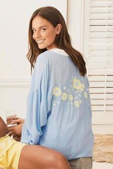 Next Embroidered Kimono