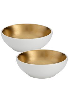 Ladelle Glitz Gold Bowl Small Set of Two