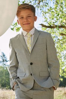 Next Light Grey Suit Jacket (12mths-16yrs)
