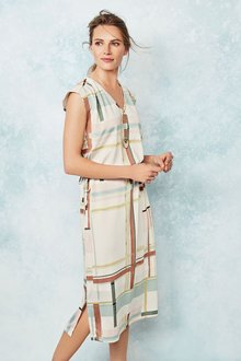Next Drawstring Waist Dress - Tall