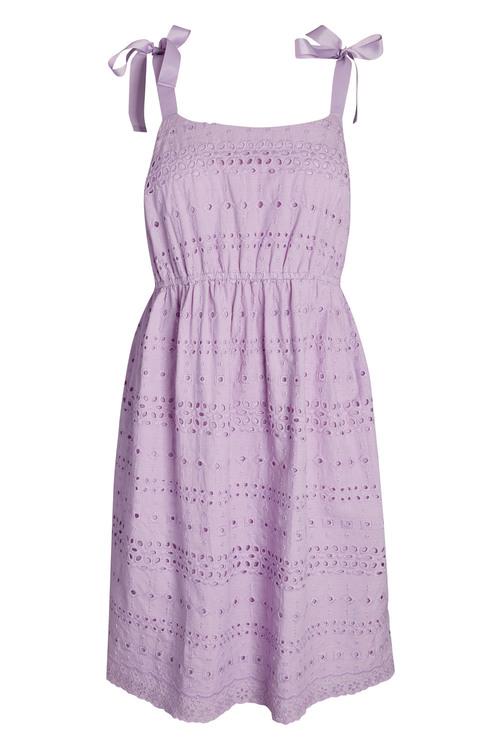 Next Lilac Broderie Dress