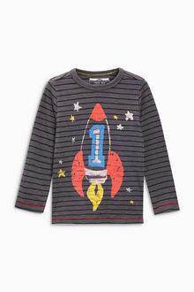 Next Long Sleeve I Am Space T-Shirt (12mths-7yrs)