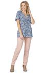 Rockmans Short Sleeve Sleeve Soft Paisley Top