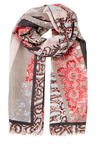 W.Lane Spliced Animal Scarf