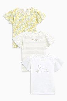Next Pretty T-Shirts Three Pack (3mths-6yrs)