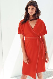 Next Crepe Wrap Dress