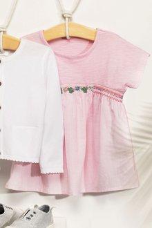 Next Pink Blouse (3mths-6yrs)