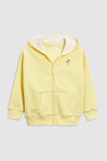 Next Yellow Zip Through Hoody (3mths-6yrs)