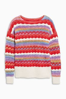 Next Multi Space Dye Sweater