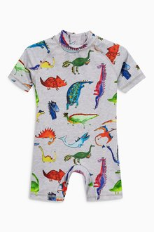 Next Dino Print Sunsafe Suit (3mths-6yrs)