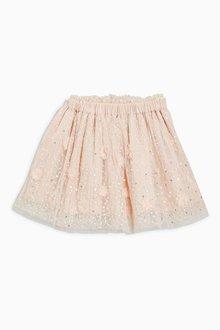 Next Mesh Embroidered Skirt (3mths-6yrs)