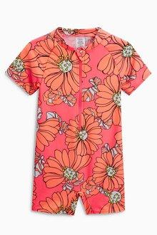 Next Floral Sunsafe Suit (3mths-6yrs)