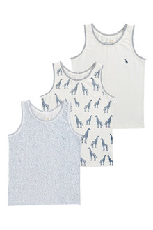 Next Giraffe Vests Three Pack (1.5-16yrs)