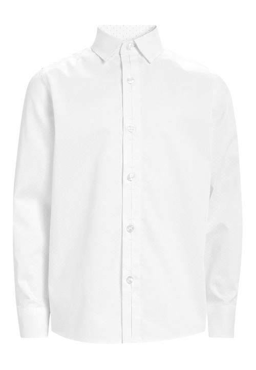 Next Long Sleeve Smart Print Shirt (3-16yrs)