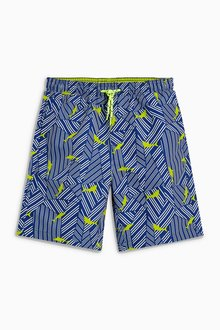 Next Shark Print Shorts (3-16yrs)
