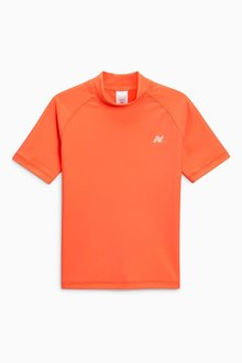 Next Short Sleeve Swim Rash Vest (3-16yrs)