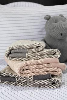 Waffle Baby Blanket