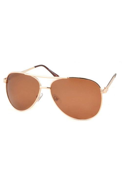 Thea Polarised Aviator Sunglasses