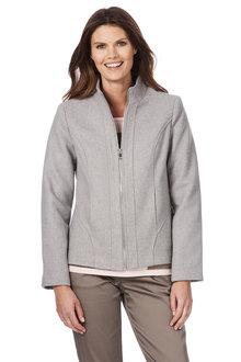 W.Lane Boiled Wool Jacket